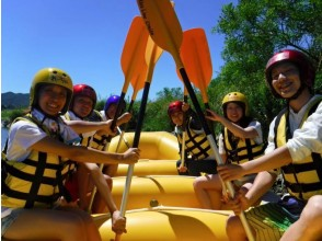 [Nagano Azumino] easy to enjoy experience rafting for beginners and families (about 1 hour course)