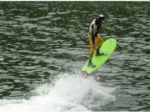 [Nagasaki and Nagasaki] fly by the force of the jet! Image of the jet board Surf experience 30 minutes Course