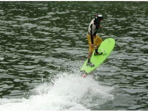 [นางาซากินางาซากิ] บินโดยการบังคับของเจ็ต! ภาพของประสบการณ์ Surf บอร์ดเจ็ท 30 นาทีสนาม