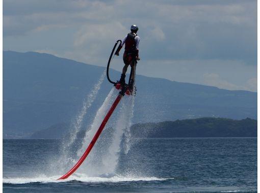 【長崎・長崎】自由自在に水上を滑走!フライボード体験30分コース