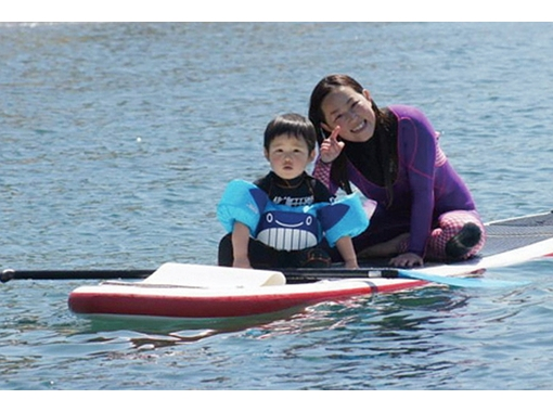 [Kanagawa Shonan] enjoy along with the children! Tandem SUP (SUP experience for course)の紹介画像