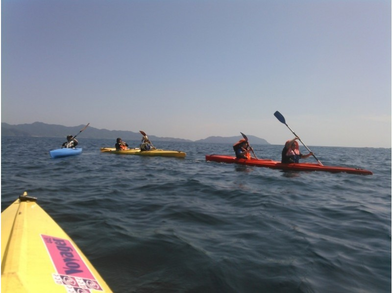 【Nagasaki · Takashima】 Sea kayak beginner trainingの紹介画像