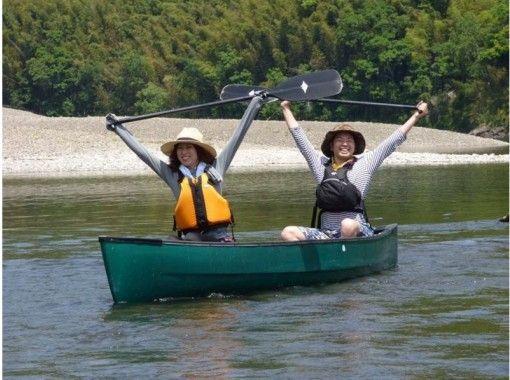 [高知縣四萬十川]下來在家庭中的河流!加拿大旅遊獨木舟の紹介画像