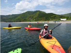 【高知・四万十】日本三大清流の一つ!四万十川でカヤック(1人乗り用)体験!の画像