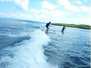 【沖縄北部・やんばる】初心者歓迎!波乗りに挑戦しよう!SUPサーフィンコース(3時間)