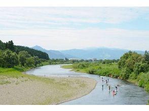【群馬・みなかみ】上・中級者向け!!レイクSUP1日ツアー:ダウンリバートリップ