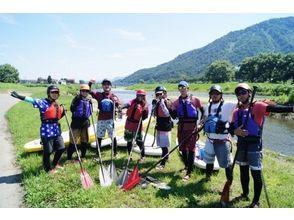 【群馬・みなかみ】レイクSUP1日ツアー:流水トリップ【初・中級者向け】