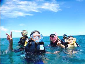 【沖縄県・国頭郡】青い海を楽しめ!!シュノーケリング&バナナボートプランの画像