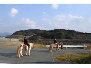 【福岡・宗像】1人で乗馬体験!ミニ遠乗り(20分お散歩コース)