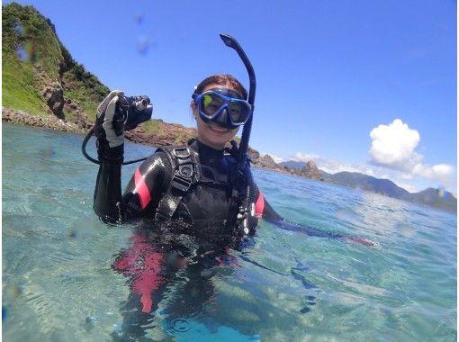【鹿児島・桜島】器材レンタル一式込み!体験ダイビングの紹介画像