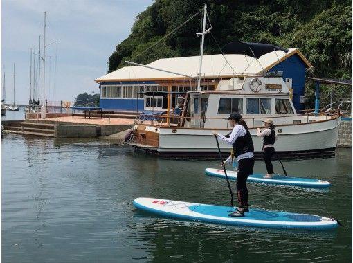 【神奈川・三浦市】初心者歓迎・小網代湾SUPツアー(2.0時間)の紹介画像