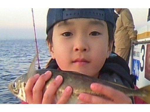 【神奈川・横浜】気軽に「アジ」を釣りに行こう「半日船釣りコース」初心者・女性・お子様歓迎!手ぶらOKの紹介画像