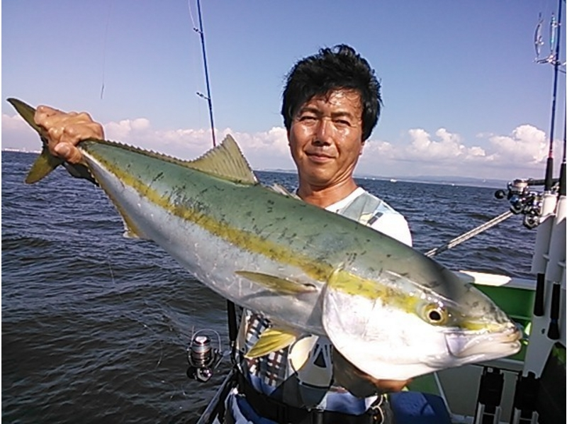 [Yokohama, Kanagawa] recommend fishing for beginners! Introduction image of trying to challenge the lure fishing (1 day course)