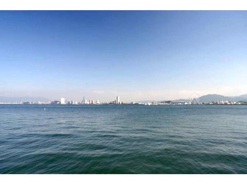 【福岡・博多湾】雁の巣ビーチでビスケット体験 or バナナボート体験の紹介画像