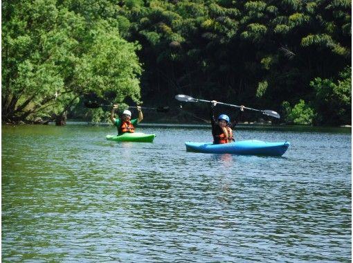 【島根・江の川】1人乗りカヤックで約5kmの川下り!カヌー・カヤック体験(半日コース)