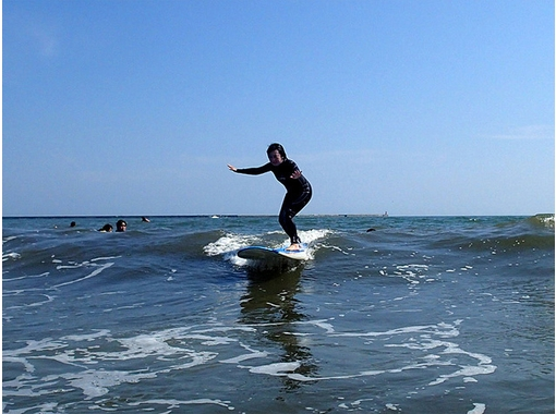 [Ibaraki, Oarai coast] surfing level up course! (Beginner to advanced) ※ direction of the boat bring you purchased outside of our shopの紹介画像