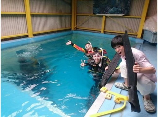 【愛知・豊田】ダイビングを始めよう!PADIスクーバダイバーコース