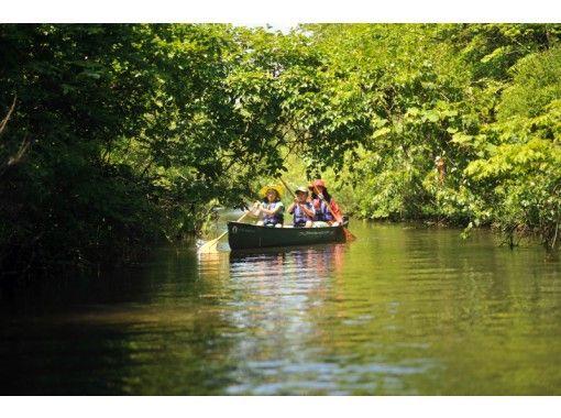 [Hokkaido Bibigawa] Chitose lush Bibigawa! Jungle touring canoesの紹介画像