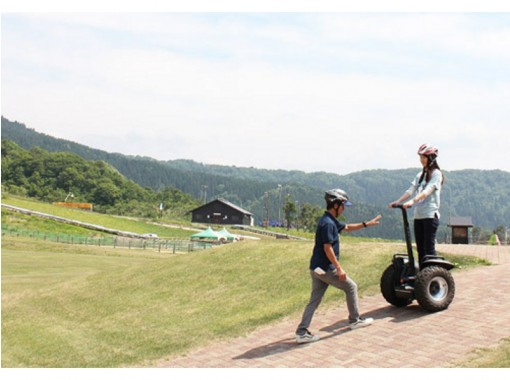 【福井・勝山】たっぷり2時間セグウェイに乗ってみよう!ライドツアーの紹介画像