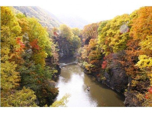 [北海道定山溪]享受大自然!定山溪豐平獨木舟遊覽(定山溪森林球場)の紹介画像