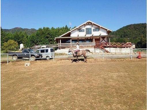 【茨城・石岡】家族やグループで楽しめる!体験乗馬【30分】