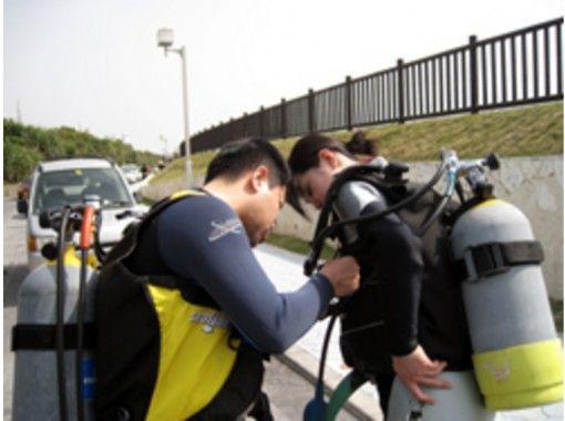 【沖縄・読谷村】ダイビングライセンス取得!スクーバ・レビュー・プログラム