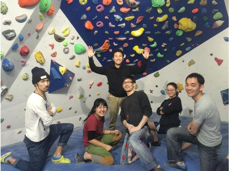 [Shinjuku, Tokyo] Beginners welcome! ☆ weekday lunch time! Feel free to bouldering ☆ Introduction to image