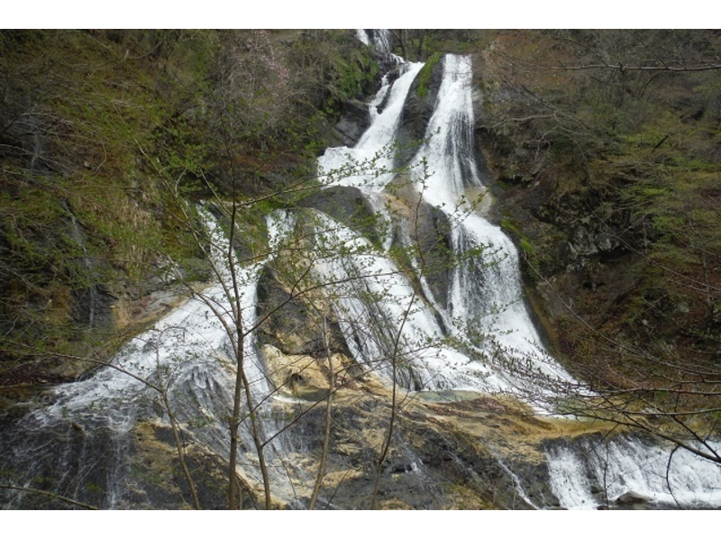 【栃木・日光】北斎と霧降滝シャワーウォーキング体験(軽食付き)の紹介画像