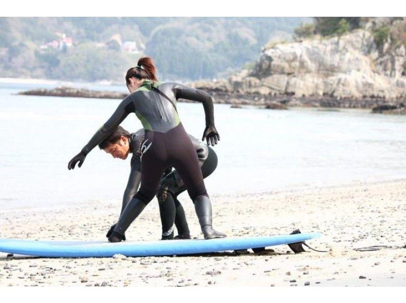 【岩手・釜石】プロサーファーがレッスン!サーフィンの醍醐味を味える2時間!!(道具持込プラン)の紹介画像