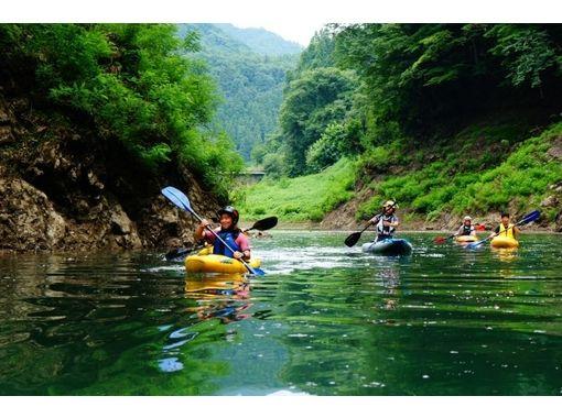 【群馬・水上/みなかみ】大自然カヤック体験(猿ヶ京温泉エリア)
