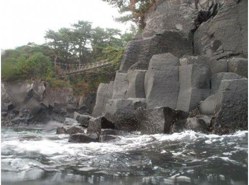 【静岡・伊東】4000年前の溶岩台地を歩く!城ケ崎トレッキング「海岩浴コース」10才から参加OK
