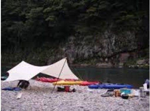 [Ibaraki ・ Nagogawa] River going & camping experience! Nakagawa canoe camp tour (one night and two days)の紹介画像