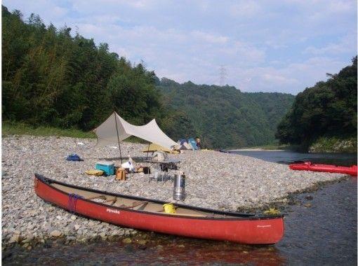【茨城・那珂川】川下り&キャンプ体験!那珂川カヌーキャンプツアー(1泊2日)