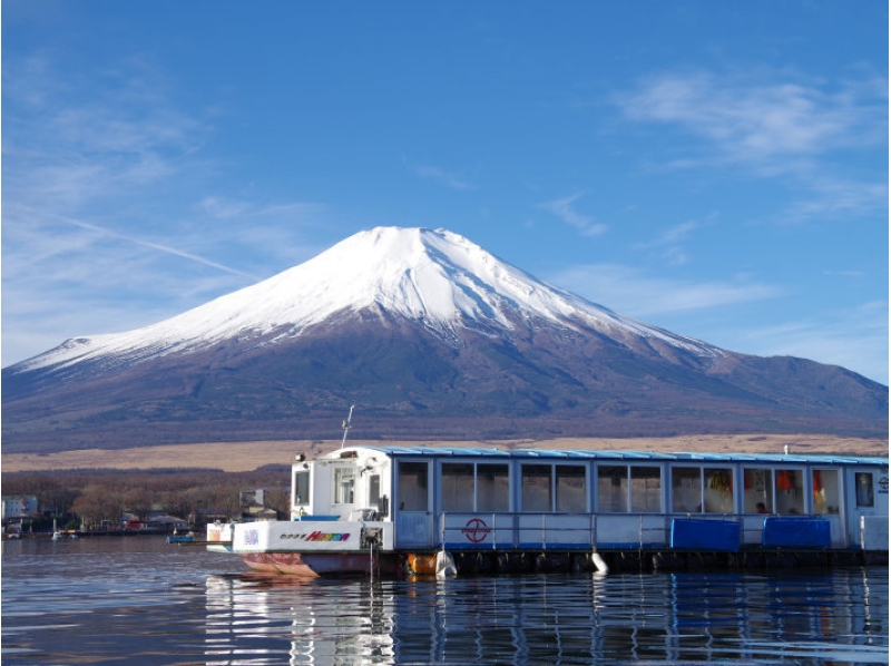 山中湖 ワカサギ釣り ドーム船
