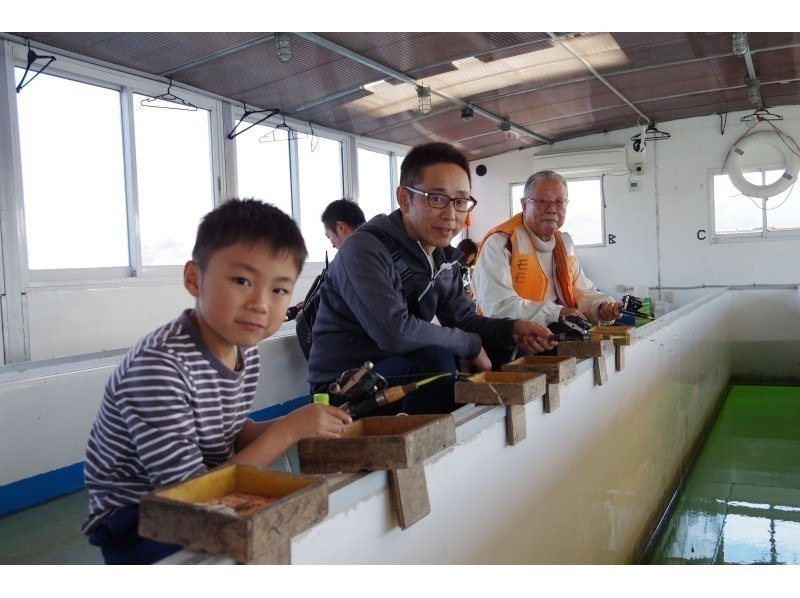 [Yamanashi Yamanaka] introduction image of rod also smelt fishing experience in all the bait deals ★ beginners welcome ★ warmth dome ship Komi (3 hour course)