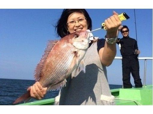 【茨城・霞ヶ浦/土浦/鹿島/潮来】テンヤマダイを釣ろう!「午後・乗合プラン」レクチャー付き!