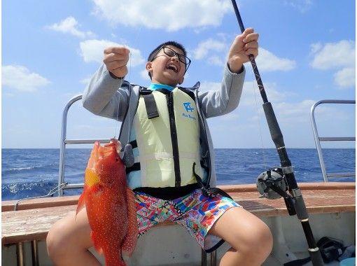 【体験ダイビング・フィッシング】パナリ島ボートフィッシング・体験ダイビングツアー(1日コース)の紹介画像