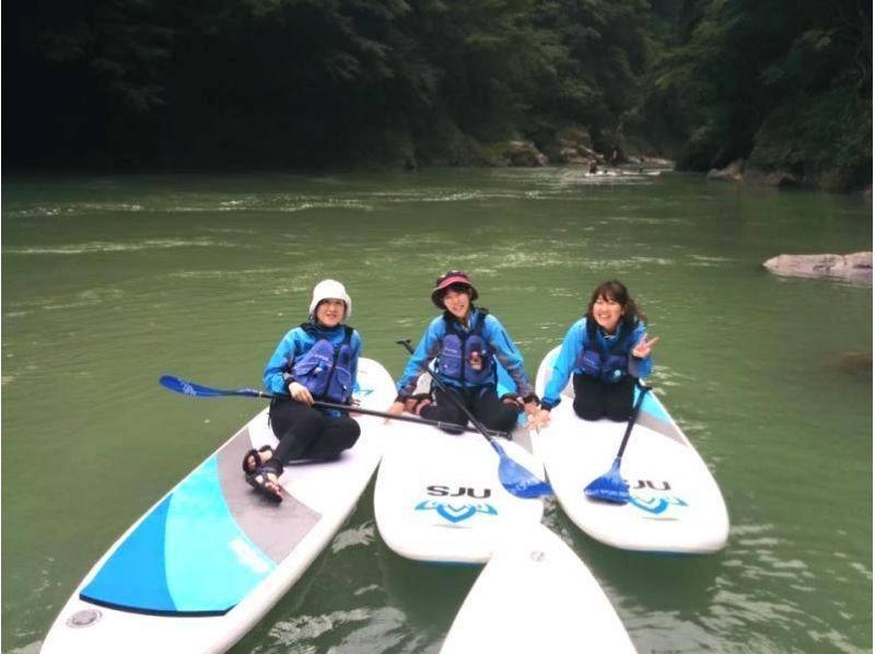【Tokyo · Okutama】 SUP tour at Shiraruma Lake ♪ introduction image of half-day short course