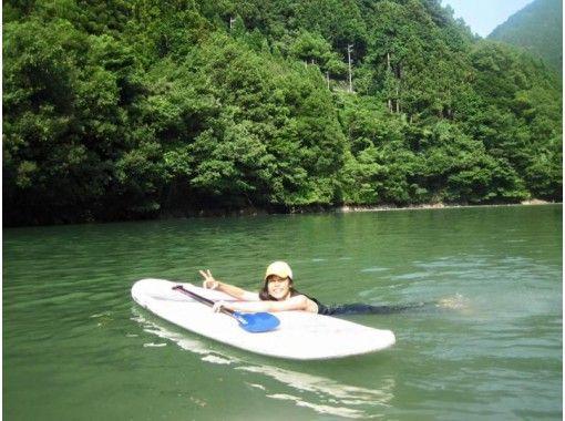 【東京・奥多摩】白丸湖でSUPツアー♪半日ショートコース