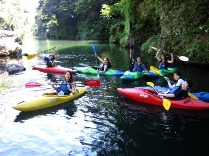 【Tokyo · Okutama】 SUP tour at Shiraru Lake ♪ Introduction picture of 1 day combo course with kayak