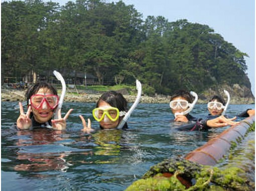【静岡・西伊豆】海遊びシュノーケル体験(半日コース)