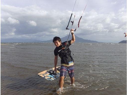 【九州・鹿児島】トリック練習中の方はこちら!カイトボード体験(ステップアップレッスン)