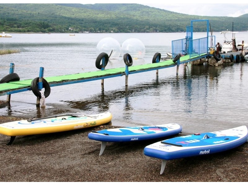 [Yamanashi Yamanakako] even for beginners OK! SUP experience introduction image of the school (90 minutes)