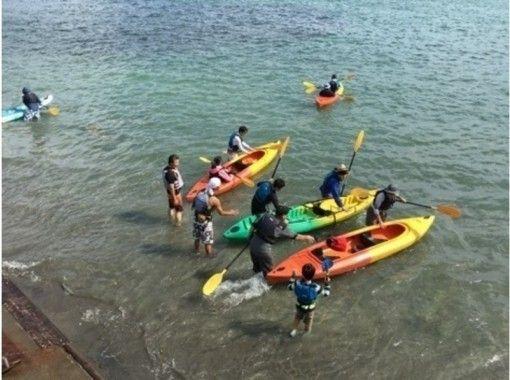 【千葉・勝浦】静かな海でシーカヤックを楽しもう!シーカヤック体験ツアー