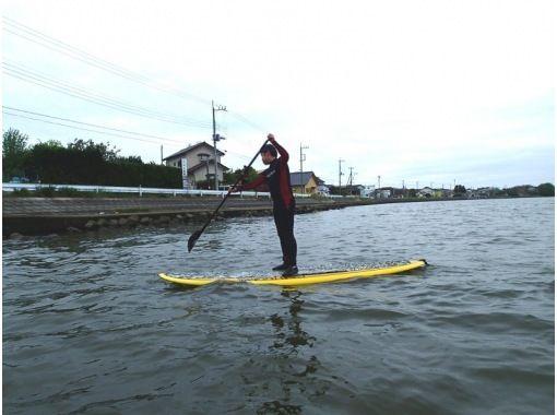 [Ibaraki, Oarai coastal] SUP experience courseの紹介画像