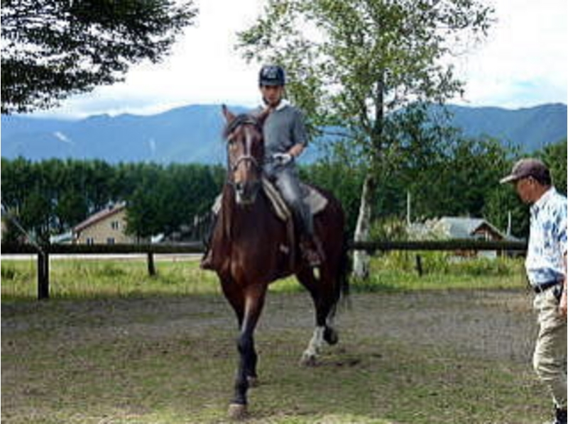 [Yamanashi Kobuchizawa] get in a short period of time! Riding license acquisition training camp of the introduction image