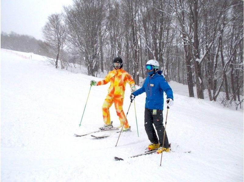 【新潟県・妙高市】池の平温泉スキー場でめきめき上達するスキーレッスン(半日・一日)の紹介画像