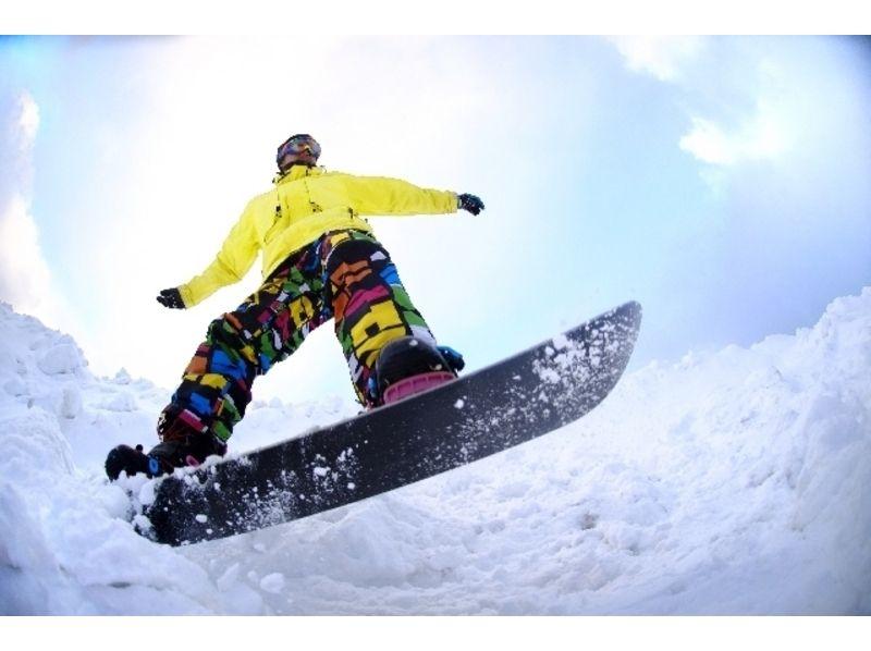 【新潟県・妙高市】池の平温泉スキー場でぐんぐん上達するスノボードレッスン(半日・一日)の紹介画像