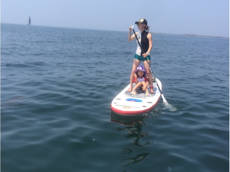 【Shonan · Hayama】 Beginner OK! Introduction of Family SUP Experience 【Rental available】 together with Candle in Hayama Sea