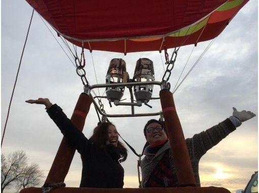 【栃木・渡良瀬】絶景フライト!熱気球フリーフライト体験の紹介画像